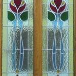 Wooden framed door